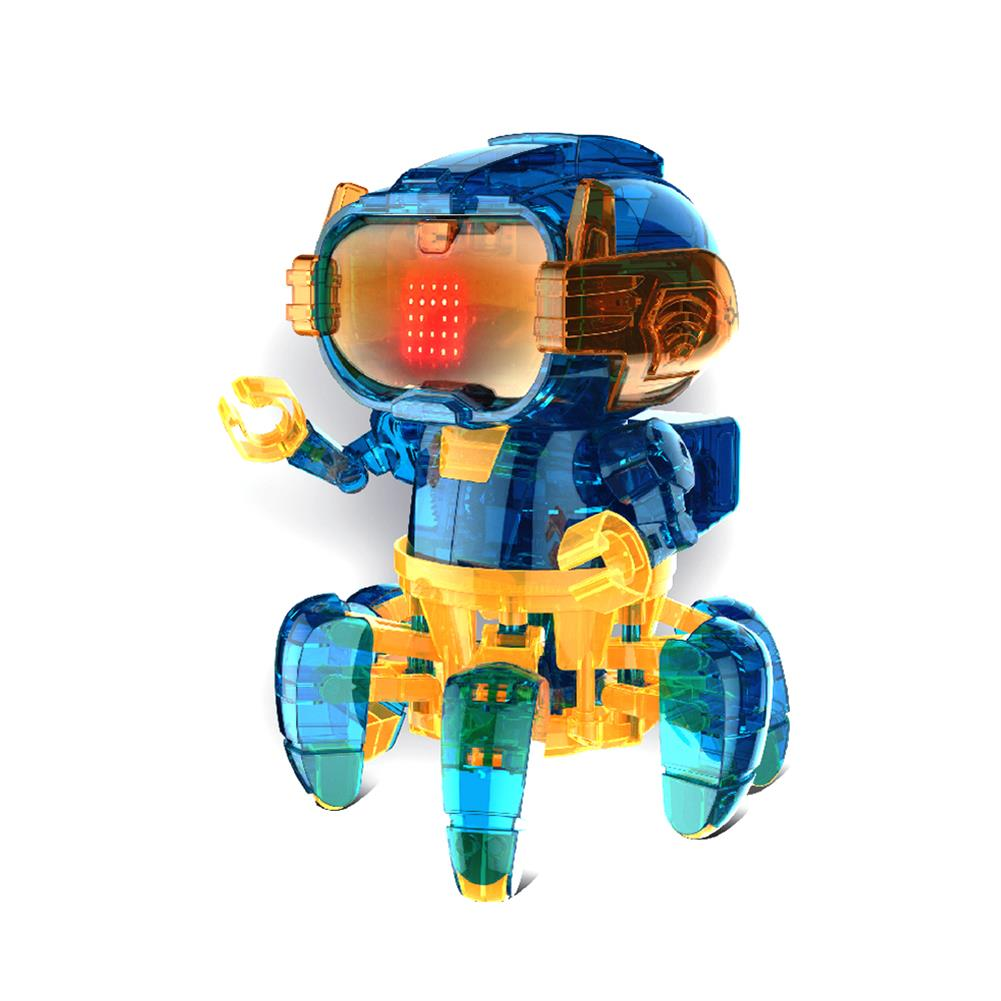 robot-toys STEM 2068 Solar Assembly intelligent Programming Robot for Children Science and Education Toys HOB1781878