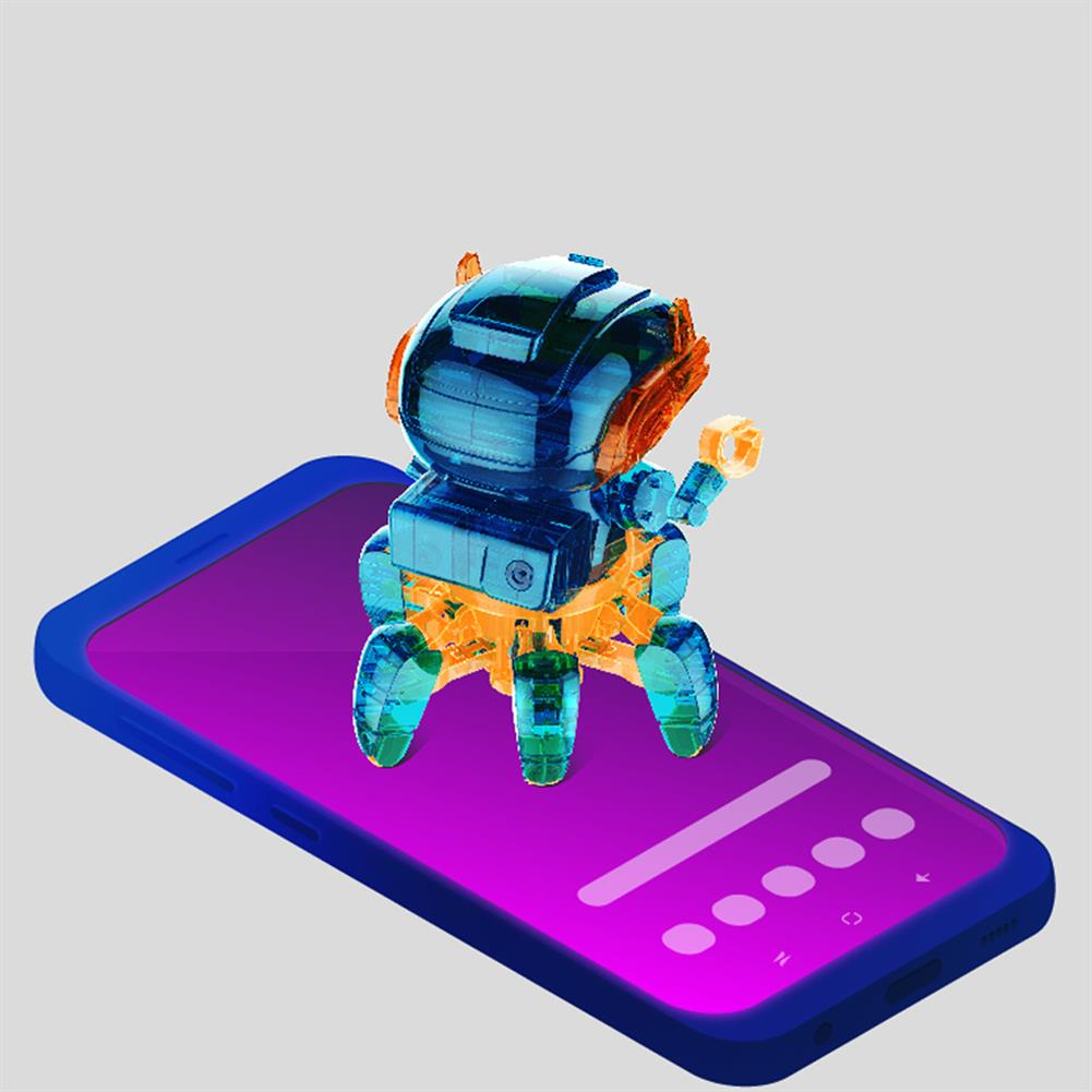 robot-toys STEM 2068 Solar Assembly intelligent Programming Robot for Children Science and Education Toys HOB1781878 3