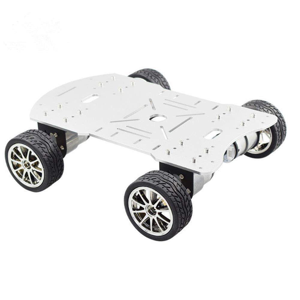 robot-parts-tools MOEBIUS Smart Car Metal Chassis 4 Wheel Car Kit HOB1781935