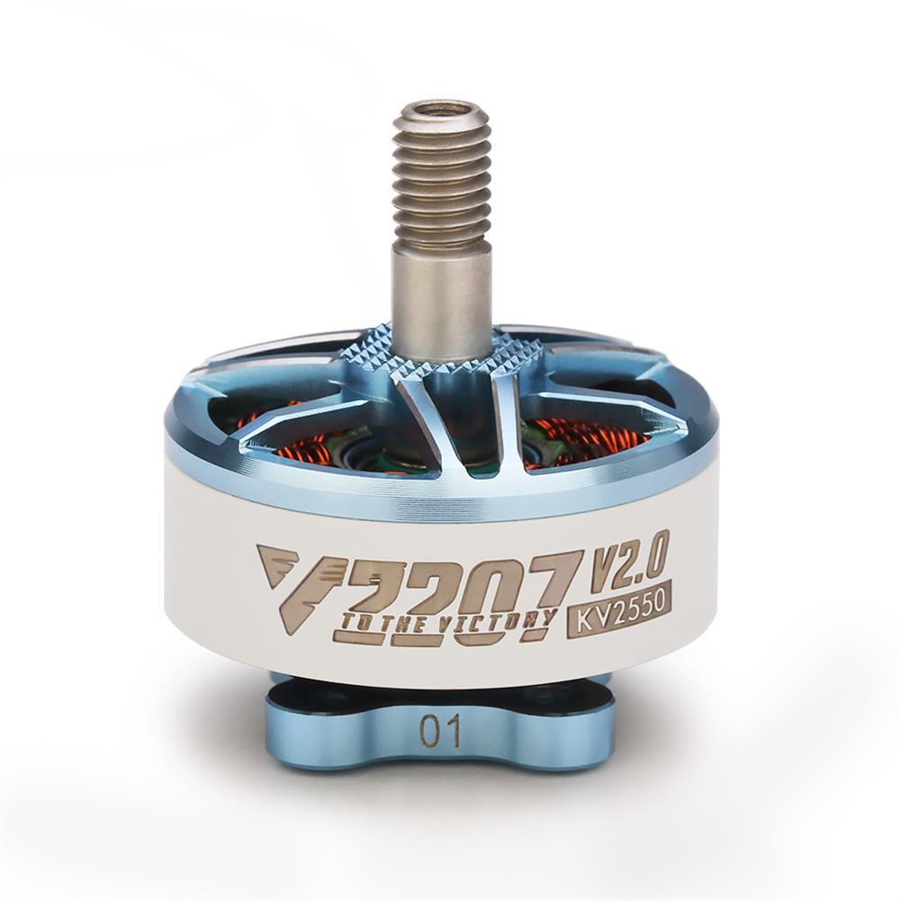 multi-rotor-parts T-Motor Velox V2207 V2 2207 1750KV 1950KV 5-6S / 2550KV 4S Brushless Motor for Freestyle RC Drone FPV Racing HOB1782505