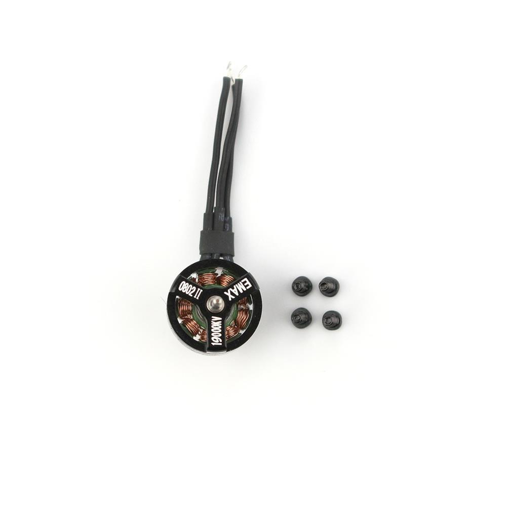 multi-rotor-parts Emax Nanohawk Spare Part 0802 19000KV 1S Brushless Motor for Tiny Whoop RC Drone FPV Racing HOB1783205 1