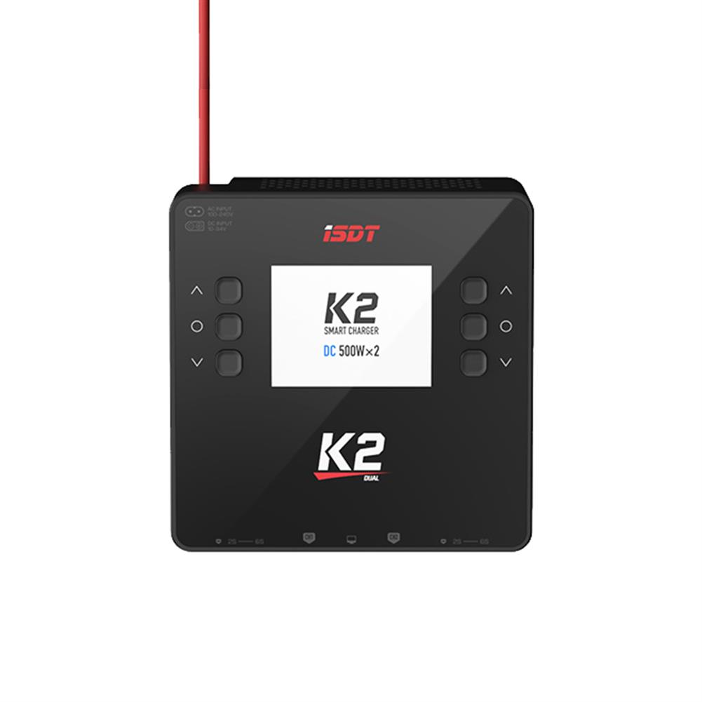 battery-charger ISDT K2 AC 200W DC 500Wx2 20A Dual Channel Balance Lipo Charger Discharger for Lipo NiMh Pb Battery HOB1783527 3