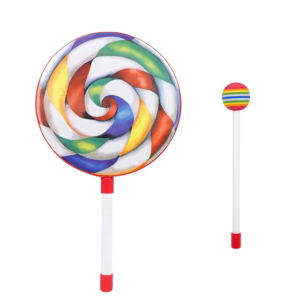 orff-instruments SY-84 8 inch Lollipop Handheld Drum Orff Puzzle Musical instrument HOB1783932