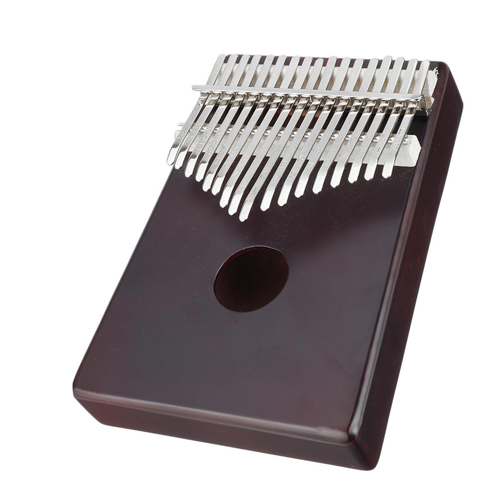 kalimba NAOMI K08 17 Keys Olid Wood Carved Kalimba Thumbs Piano Musical instruments HOB1783946 3