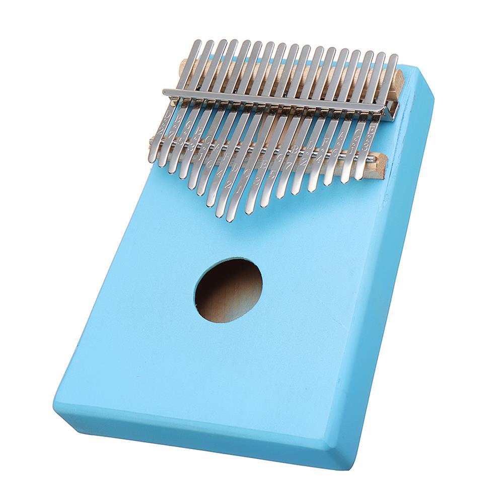 kalimba 17 Keys C-Tune Thumb Piano Kalimba Portable Solid Wood Finger Piano HOB1783948 1