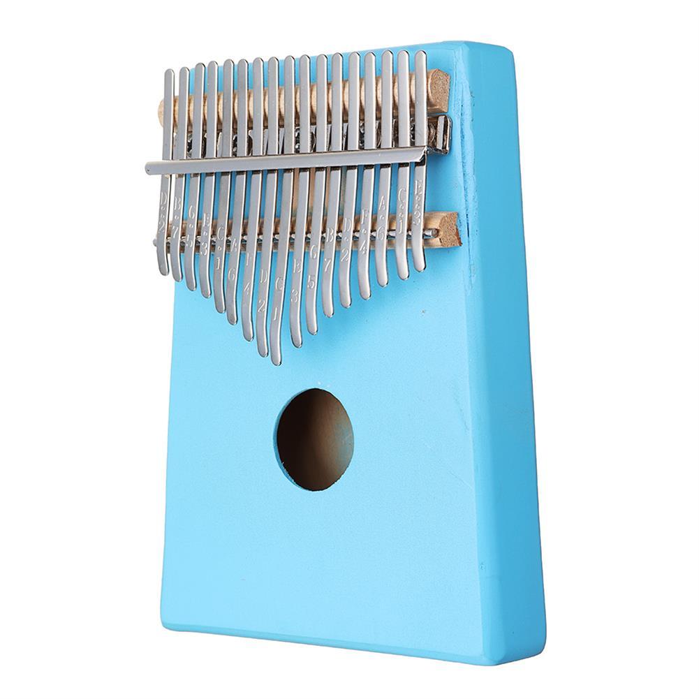 kalimba 17 Keys C-Tune Thumb Piano Kalimba Portable Solid Wood Finger Piano HOB1783948 2