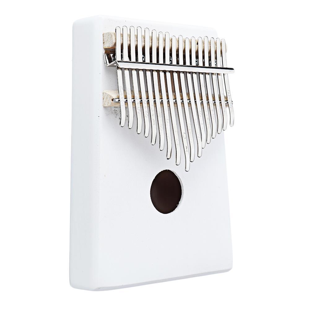 kalimba NAOMI K06 17 Keys Kalimba Wihte Thumb Piano Musical instruments HOB1783951 2