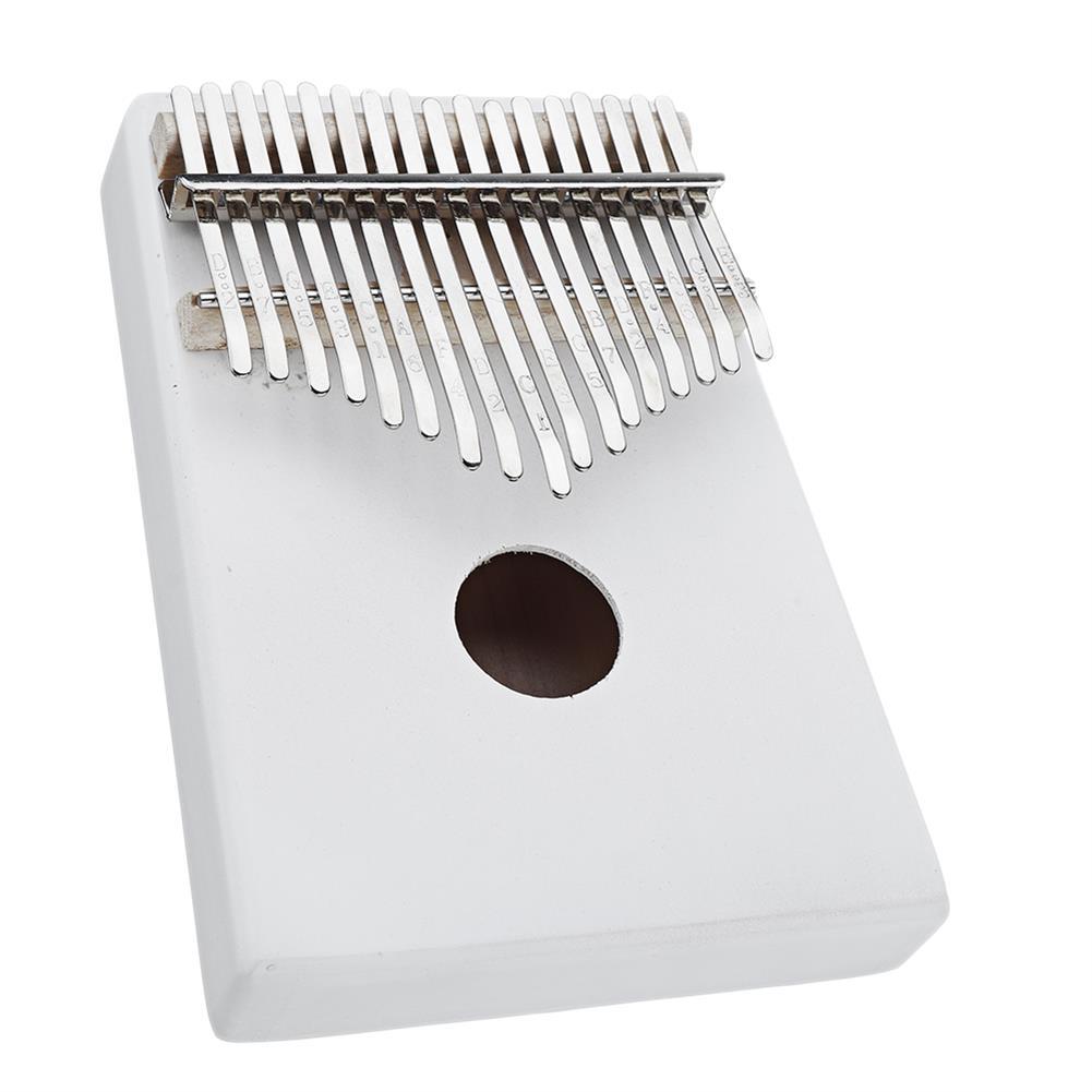 kalimba NAOMI K06 17 Keys Kalimba Wihte Thumb Piano Musical instruments HOB1783951 3