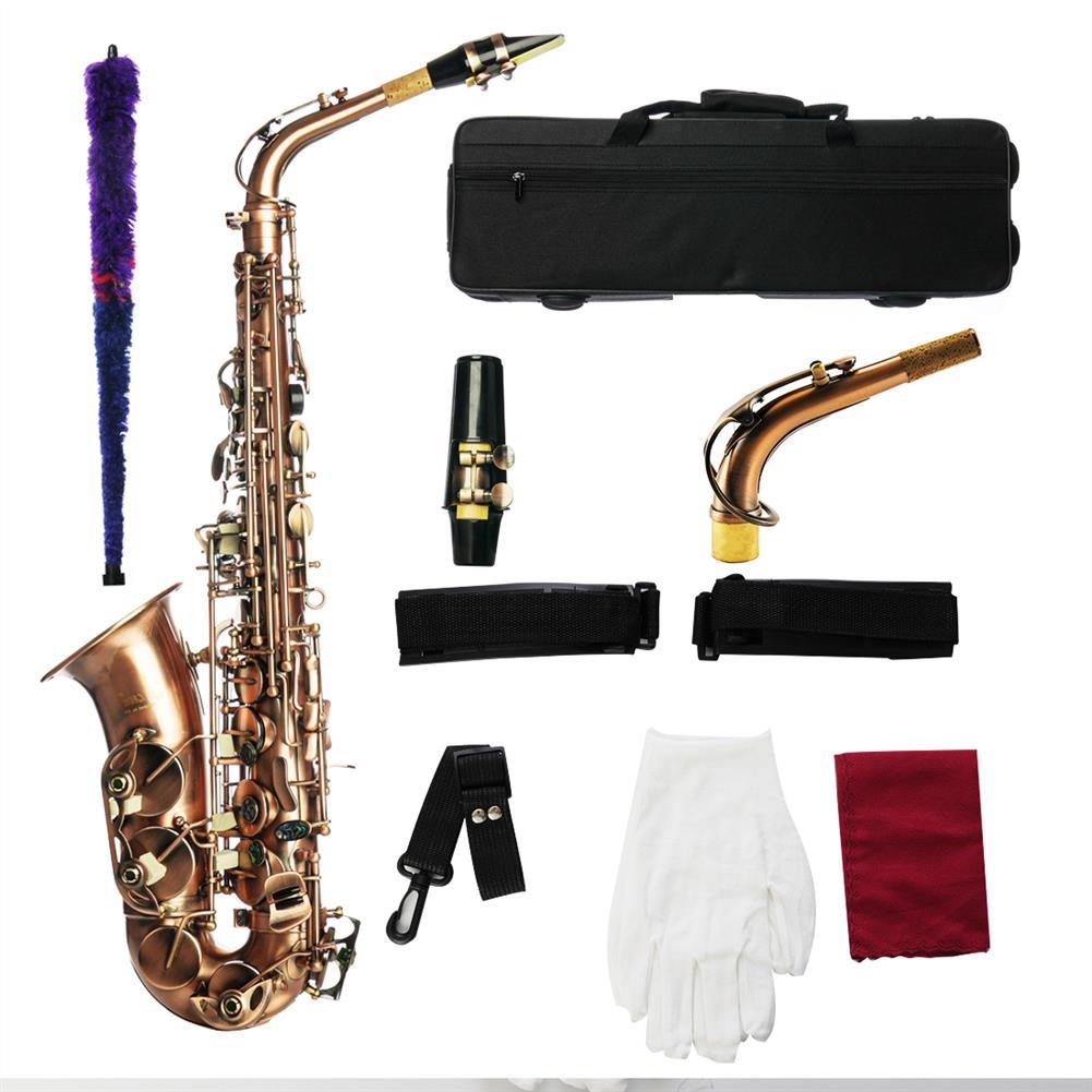 saxophone MY S0189 Antique Bronze Alto Saxophone Woodwind instrument HOB1783978