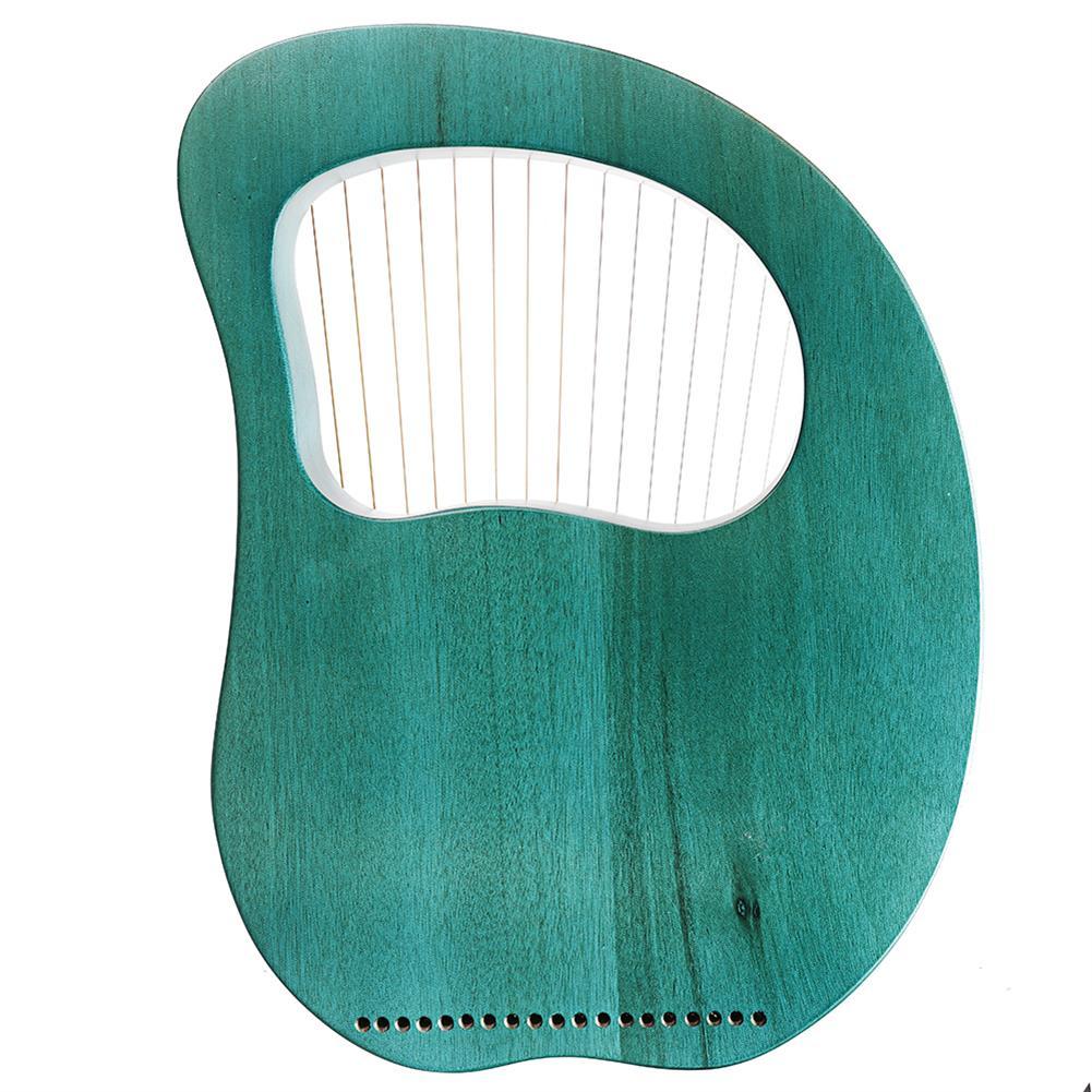 lyre Cega 19 Tone Lyar Portable Mahogany Harp HOB1784228 3