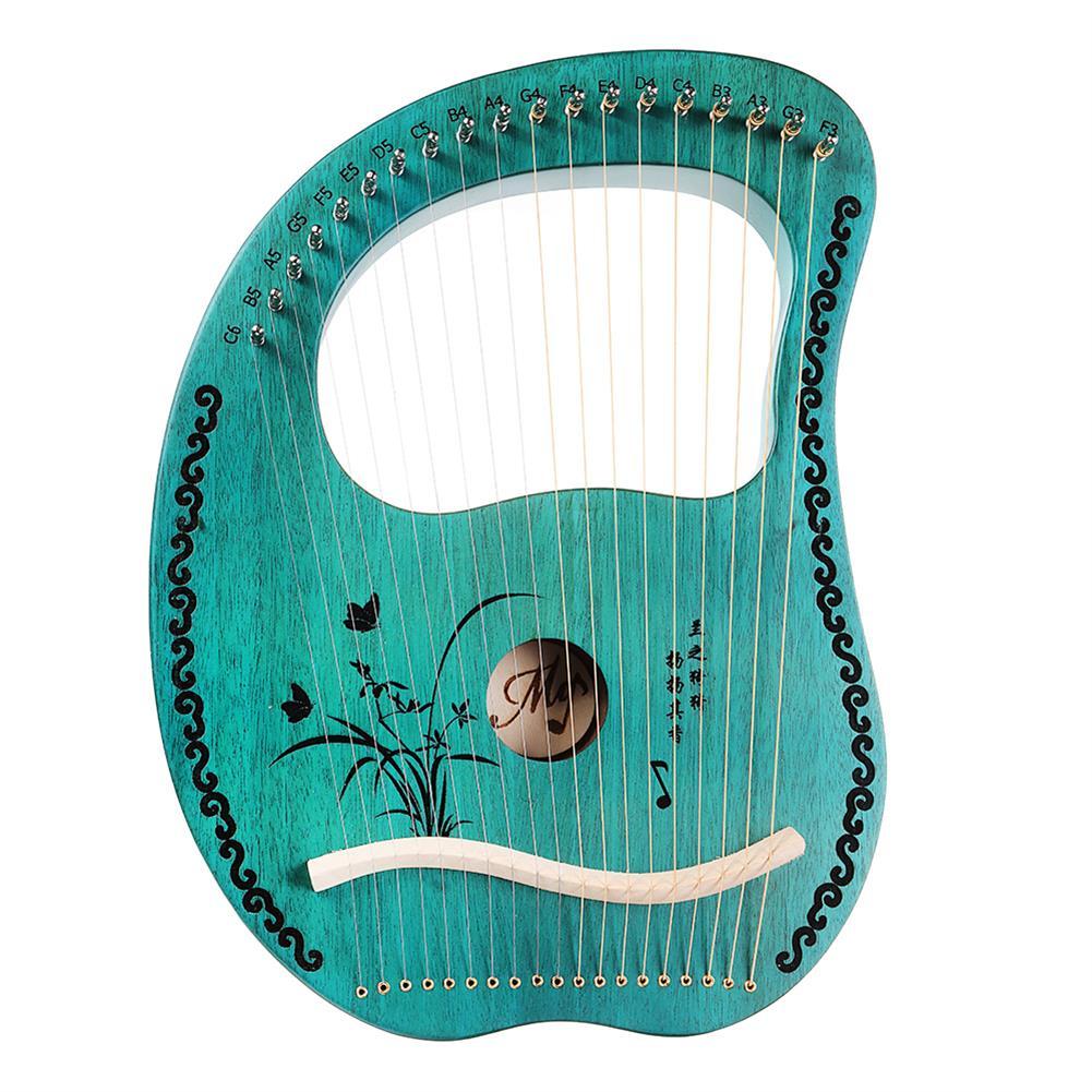 lyre MY 19 String Lyre Portable Mahogany Harp HOB1784266