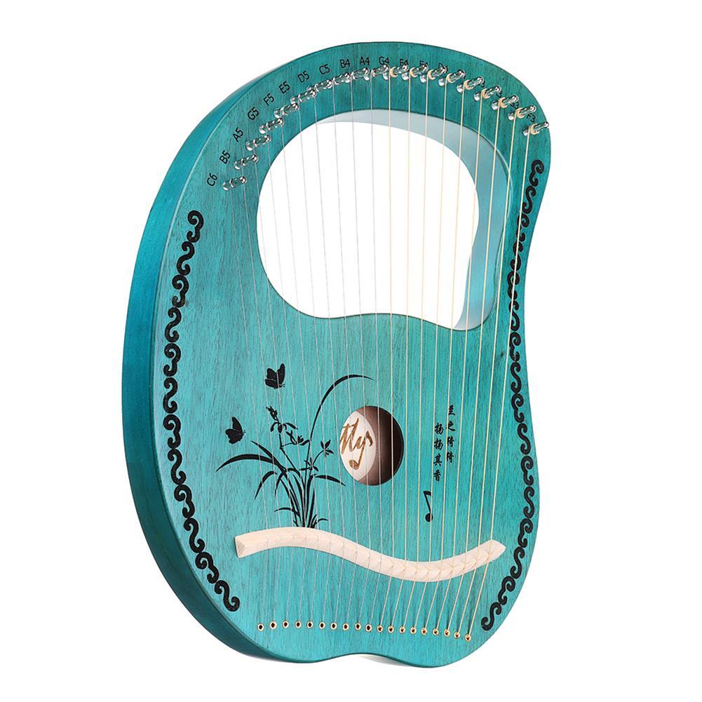 lyre MY 19 String Lyre Portable Mahogany Harp HOB1784266 1