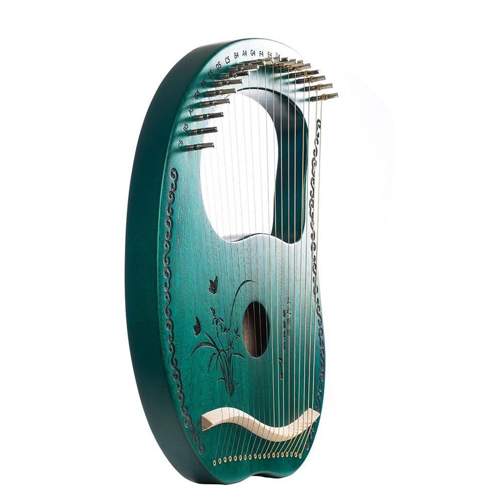 lyre MY 19 String Lyre Portable Mahogany Harp HOB1784266 3