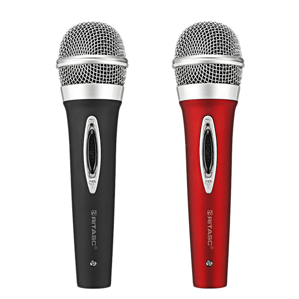 microphones-karaoke-equipment RITASC W26 Moving Coil Wired Microphone for Conference Teaching Karaoke HOB1784322