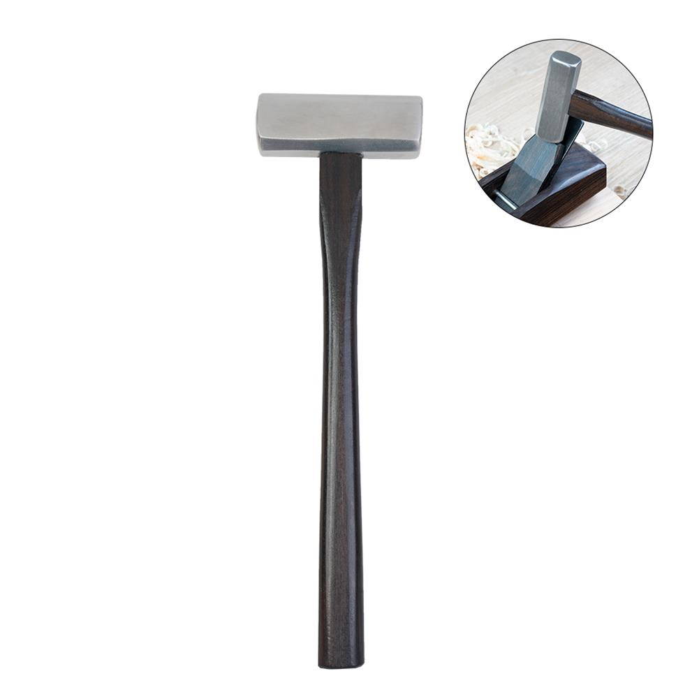 strings-accessories NAOMI Violin Tool Square Head Steel Hammer Ebony Handle HOB1784418