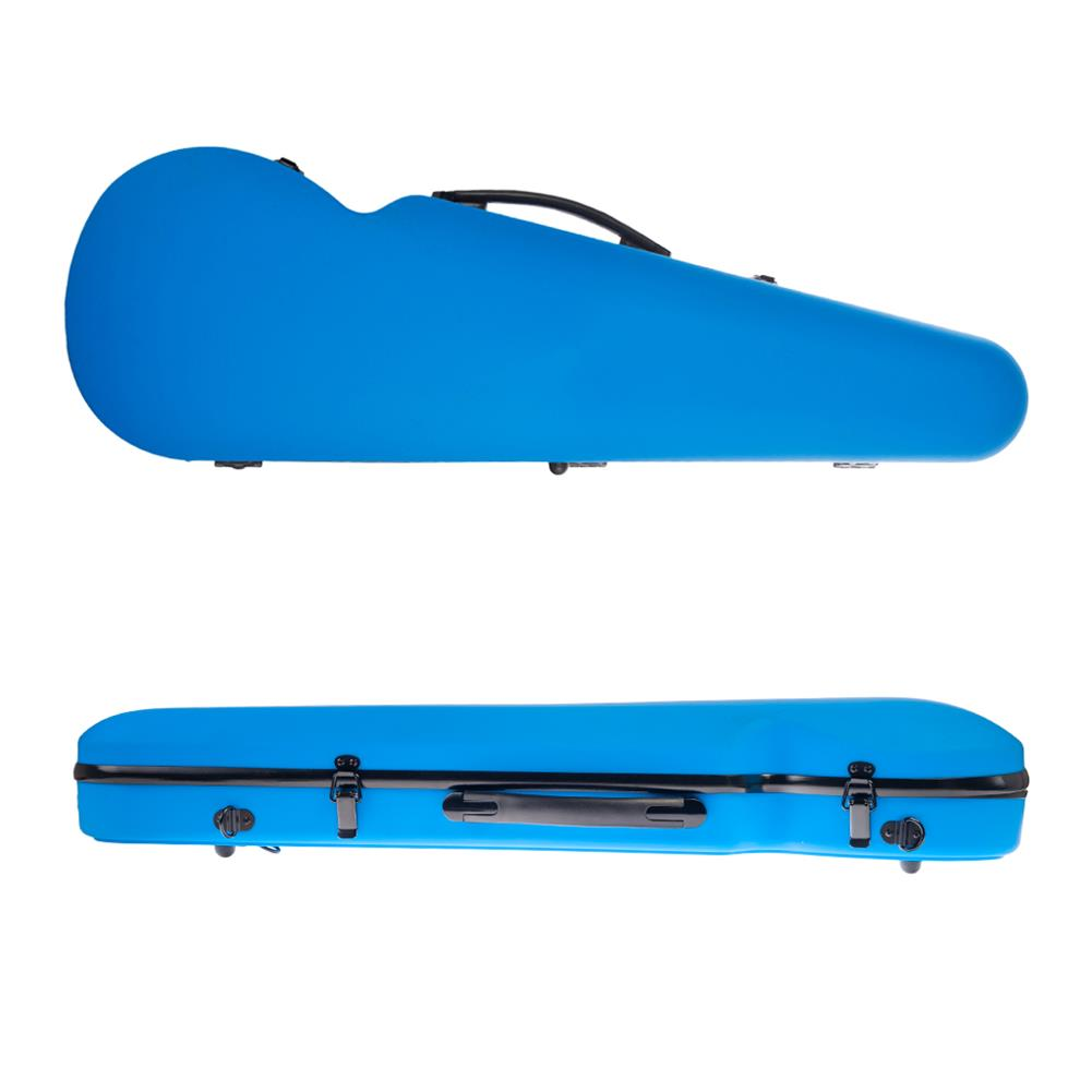 strings-accessories NAOMI 4/4 Full Size Bright Light Round Triangle Violin Case HOB1784512 2