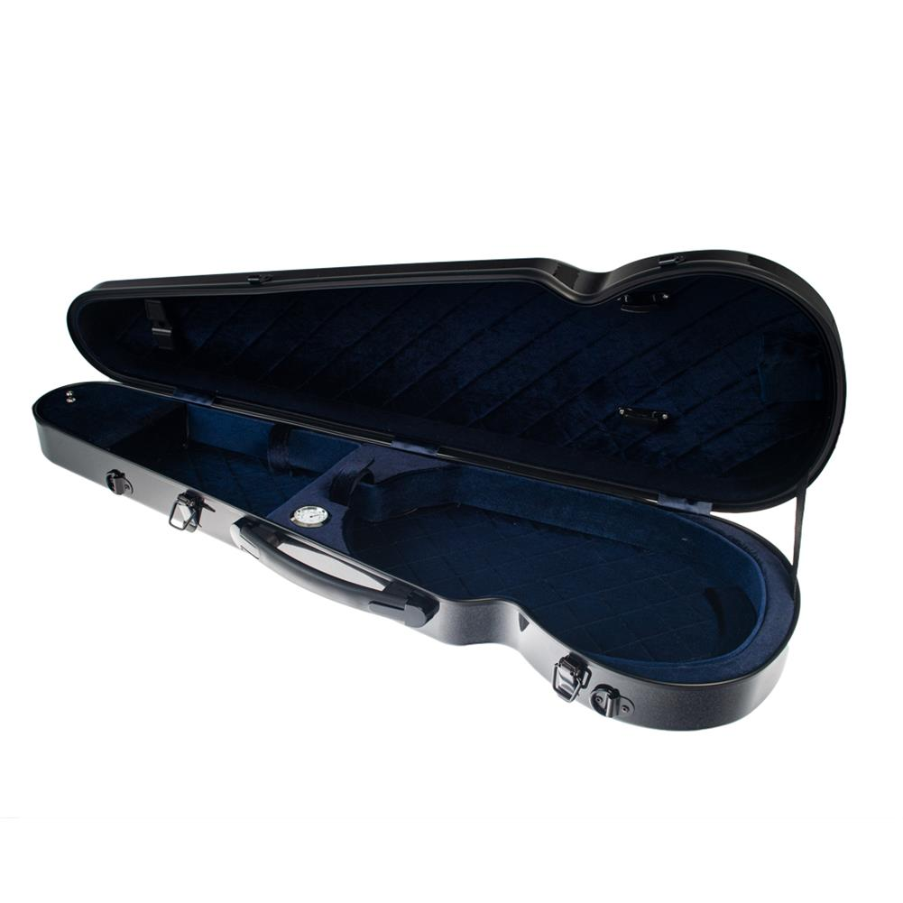strings-accessories NAOMI 4/4 Full Size Bright Light Round Triangle Violin Case HOB1784516 2