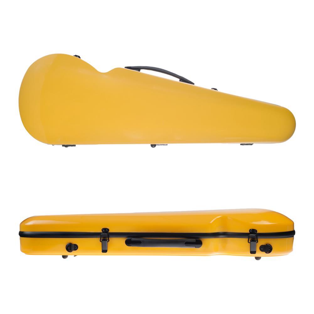 strings-accessories NAOMI 4/4 Full Size Bright Light Round Triangle Violin Case HOB1784551 2