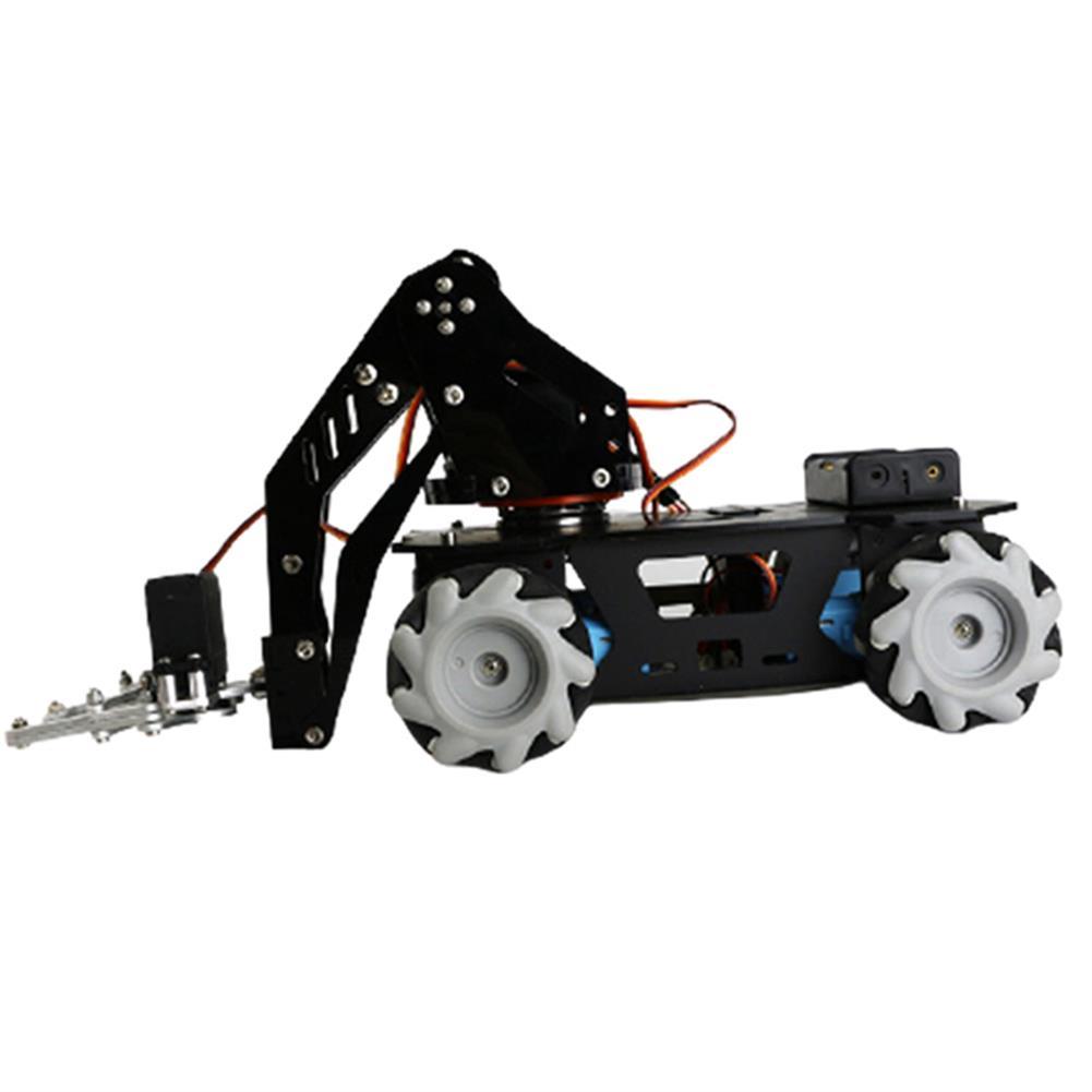 smart-robot-car Mecanum Wheel Robotic Arm Trolley Handling Smart Car HOB1784624 1