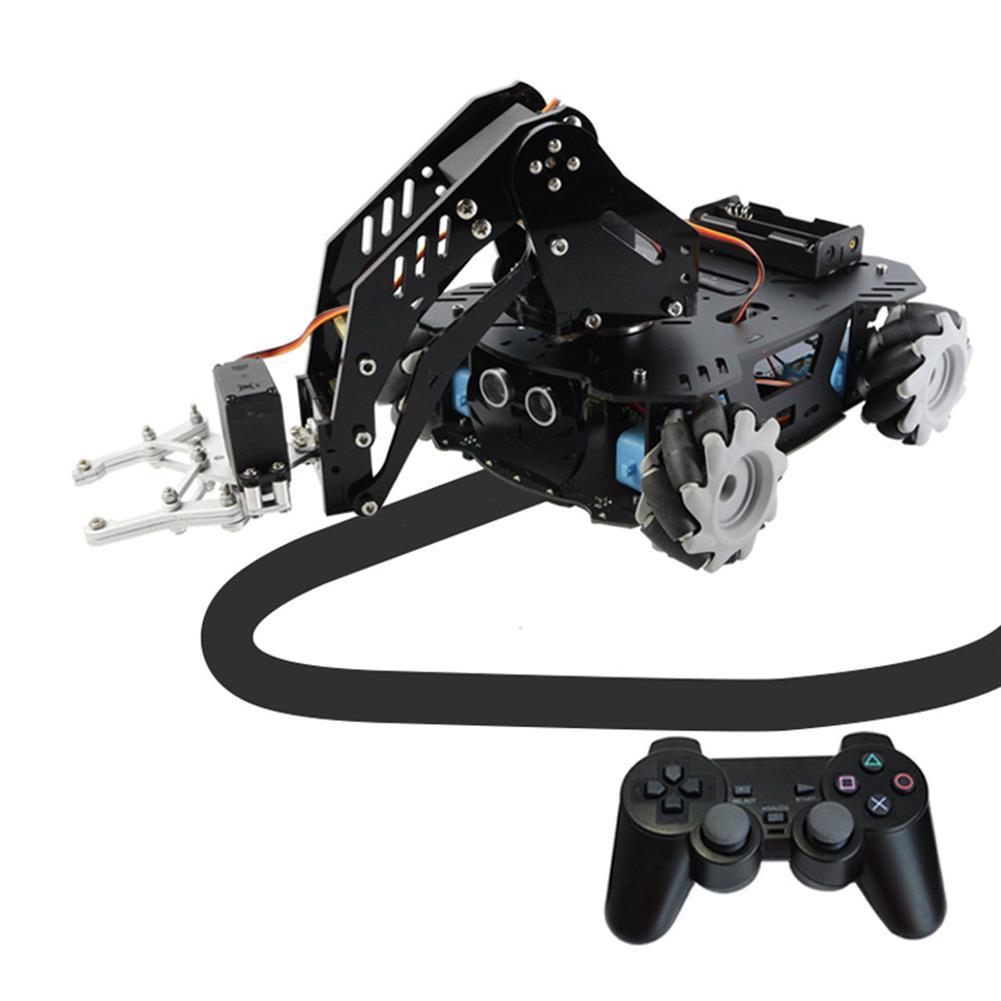 smart-robot-car Mecanum Wheel Robotic Arm Trolley Handling Smart Car HOB1784624 2