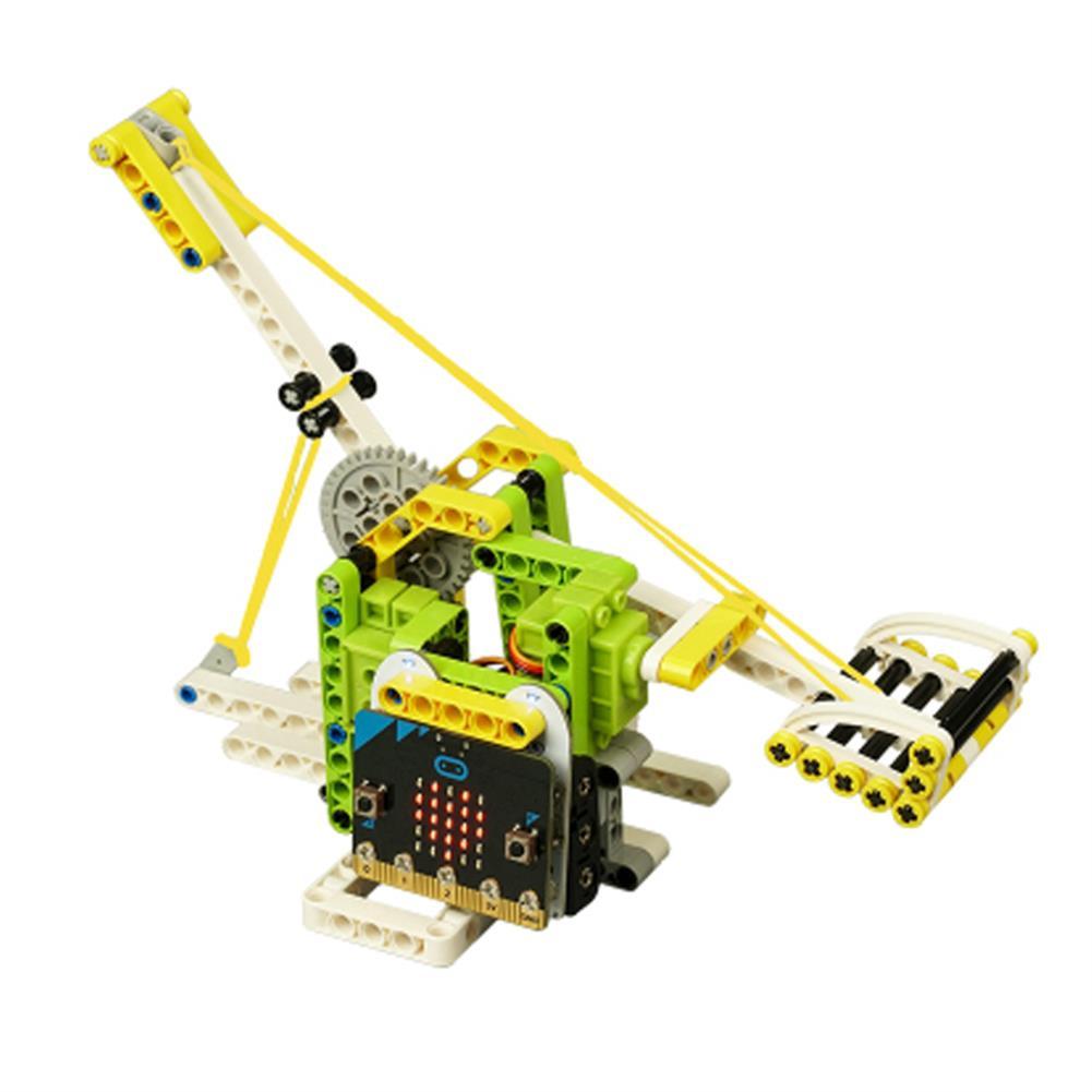 smart-robot ElecFreaks Microbit Children Programming Electronic Building Blocks 6 in 1 Kit RC Smart Robot HOB1784626 1