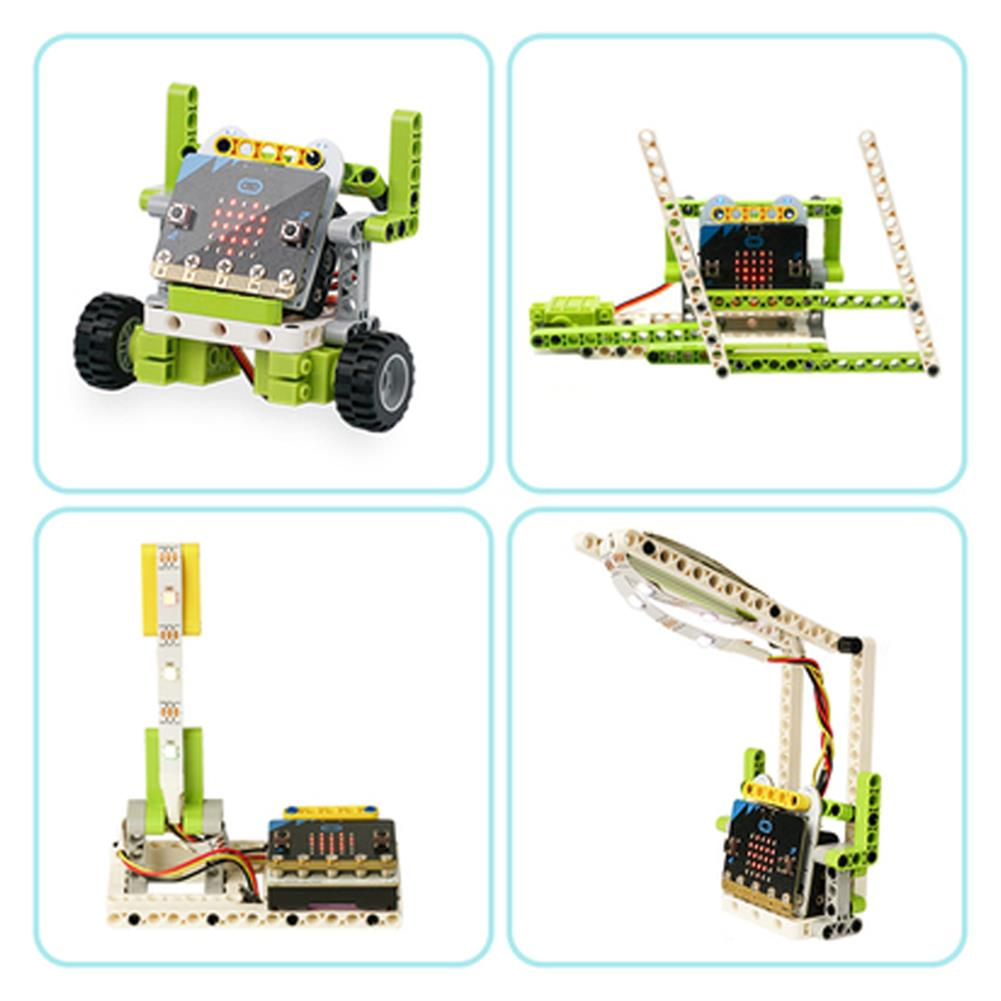 smart-robot ElecFreaks Microbit Children Programming Electronic Building Blocks 6 in 1 Kit RC Smart Robot HOB1784626 3