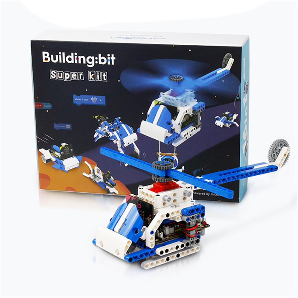 smart-robot Yahboom intelligent Microbit Programmable Building Block Robot Kit Python Graphic Assembly Educational RC Robot HOB1784629 1