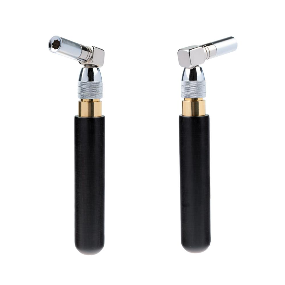 keyboard-accessories NAOMI Piano Tuning Wrench Sandalwood Handle Telescopic Octagonal Core Stainless Steel Piano Tuner Tool HOB1784658 1