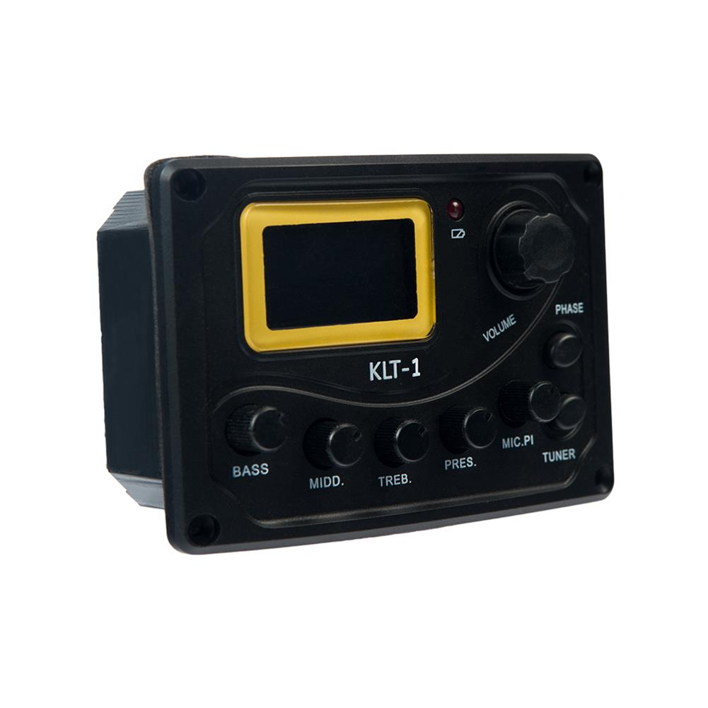 guitar-accessories NAOMI KLT-1 4 Band Guitar Equalizer with Digital Processing Tuner HOB1784660 1