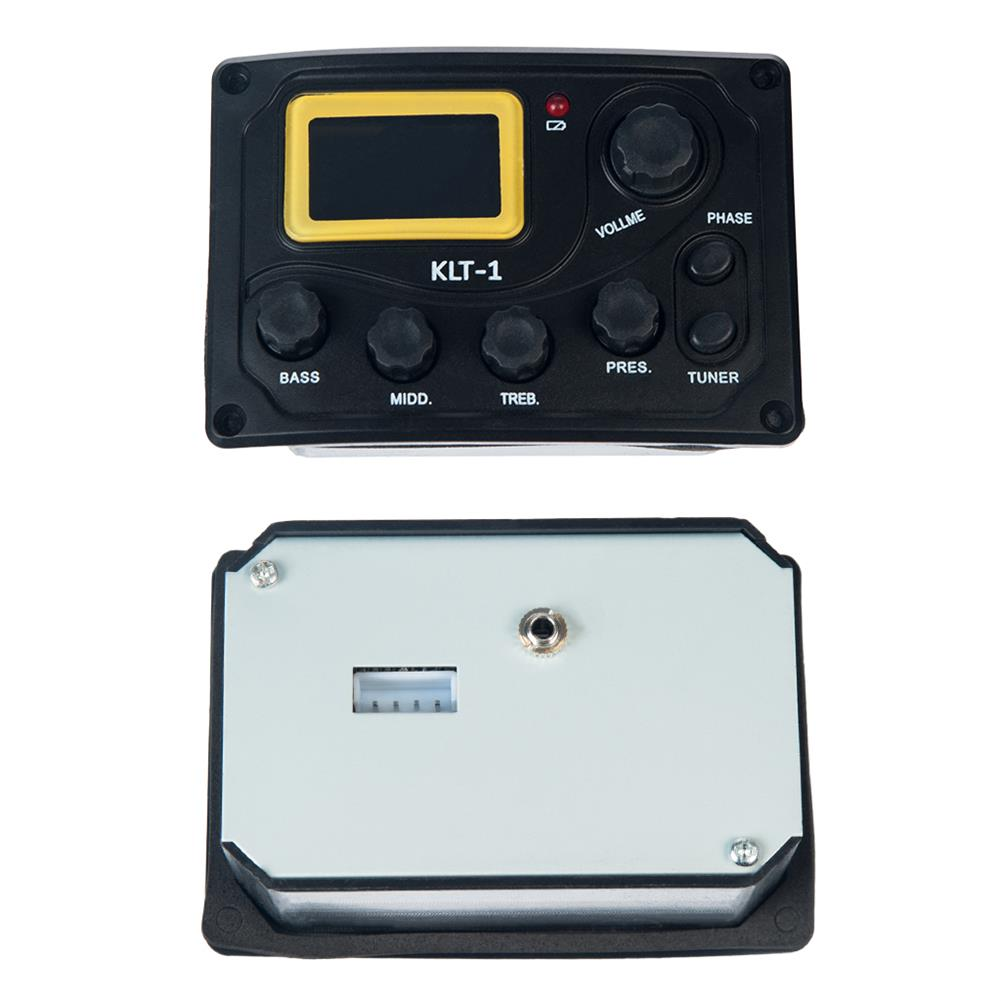 guitar-accessories NAOMI KLT-1 4 Band Guitar Equalizer with Digital Processing Tuner HOB1784660 2