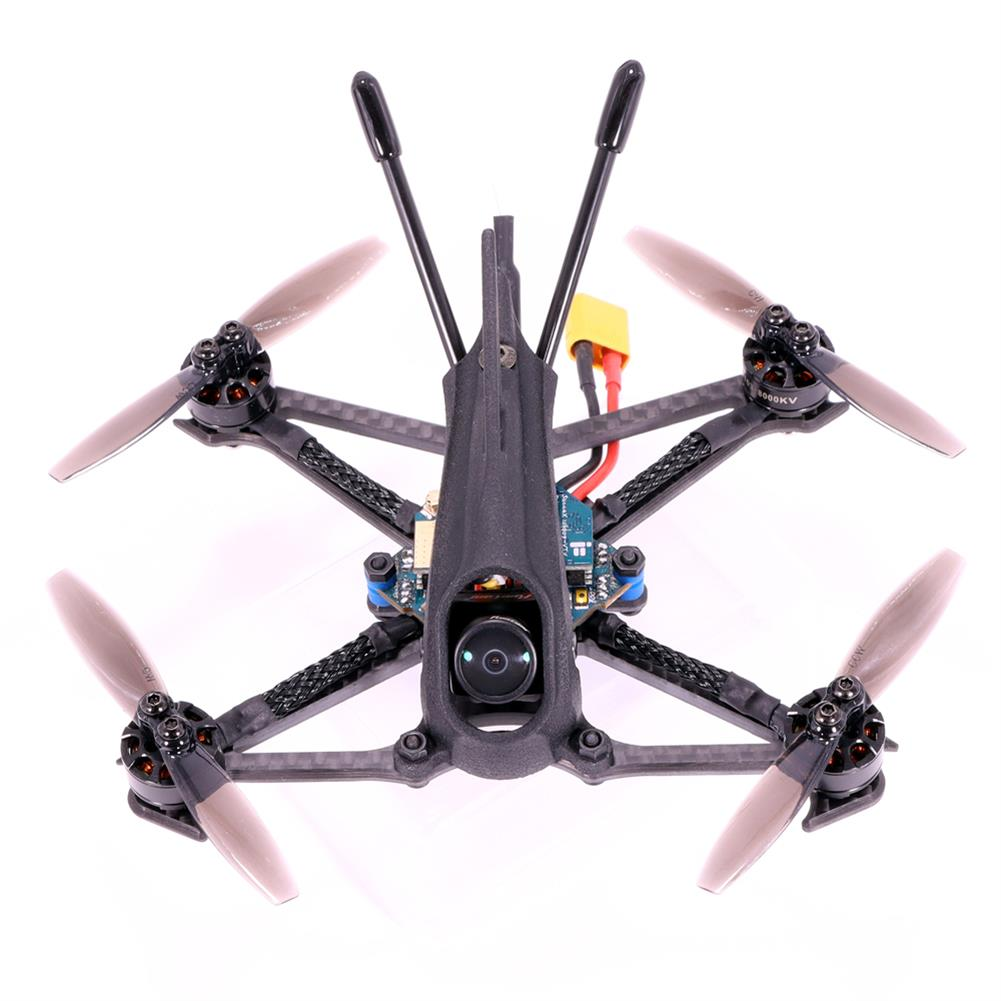 fpv-racing-drone AlfaRC Herbie 112mm 2.5 inch 2-3S Toothpick FPV Racing Drone PNP/BNF Caddx.us Turbo Eos2 Cam SucceX Micro F4 FC 12A ESC 1103 8000KV Motor 200mW VTX HOB1784988 1
