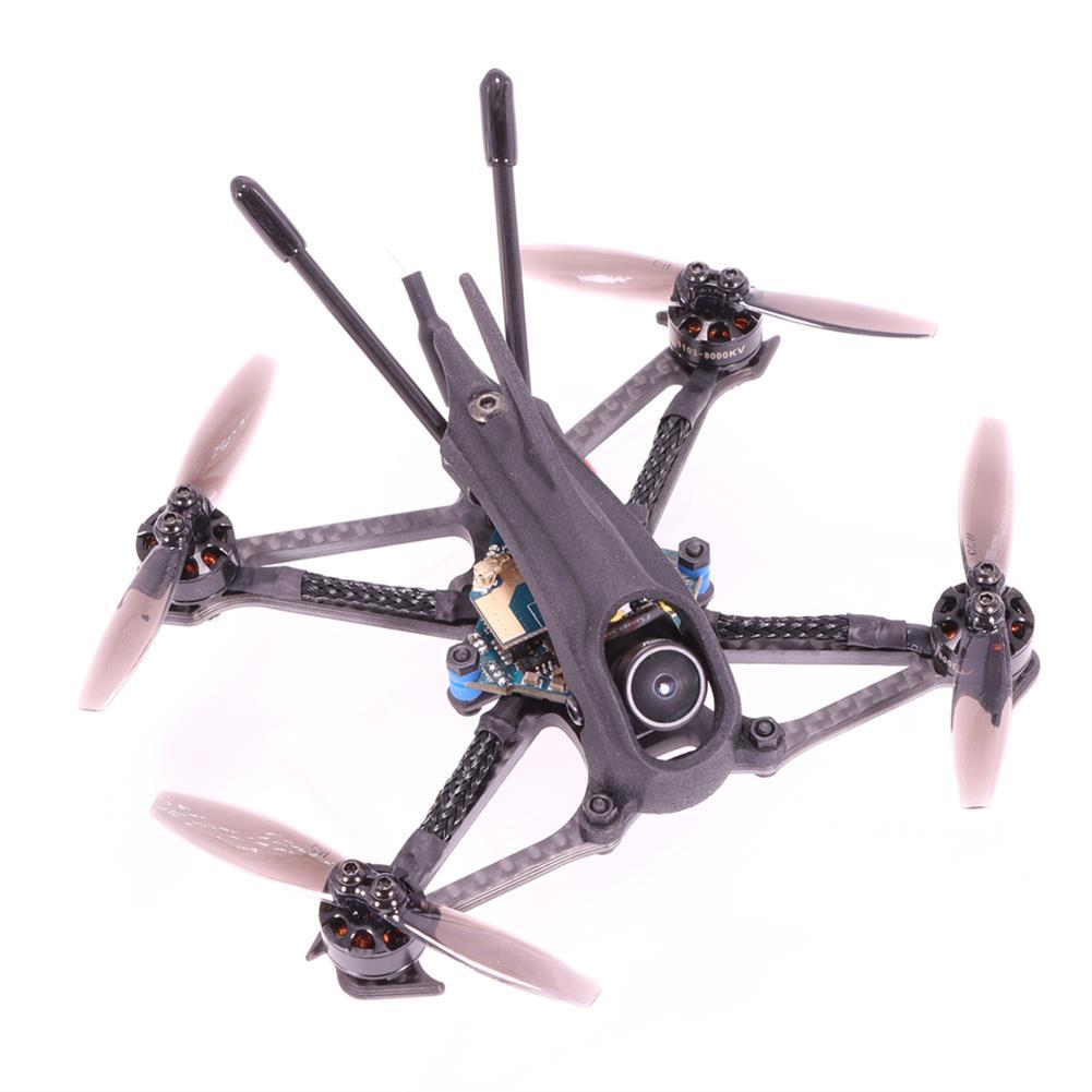 fpv-racing-drone AlfaRC Herbie 112mm 2.5 inch 2-3S Toothpick FPV Racing Drone PNP/BNF Caddx.us Turbo Eos2 Cam SucceX Micro F4 FC 12A ESC 1103 8000KV Motor 200mW VTX HOB1784988 2