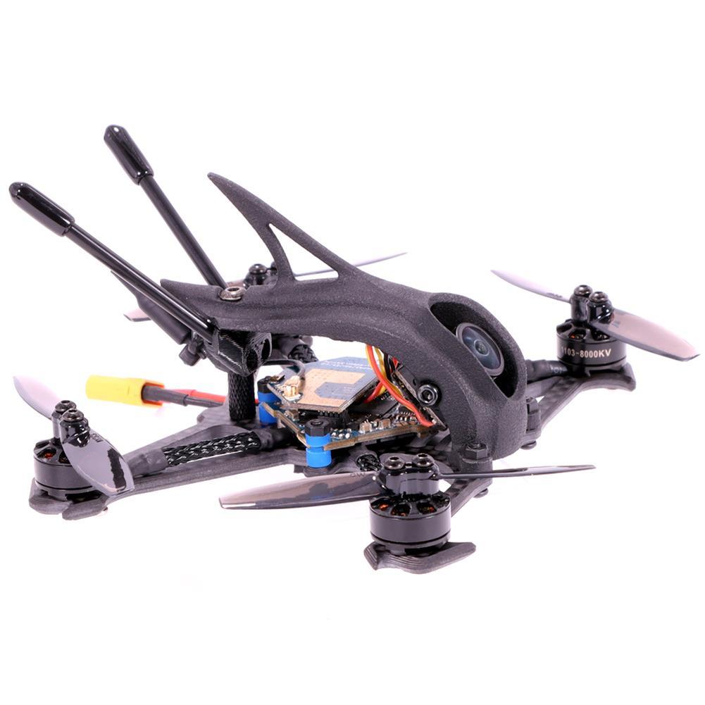 fpv-racing-drone AlfaRC Herbie 112mm 2.5 inch 2-3S Toothpick FPV Racing Drone PNP/BNF Caddx.us Turbo Eos2 Cam SucceX Micro F4 FC 12A ESC 1103 8000KV Motor 200mW VTX HOB1784988 3