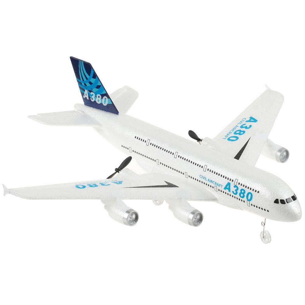 rc-airplane A380 Airbus 420mm Wingspan 2.4G 3CH EPP RC Airplane Fixed-wing Glider RTF Built-in Gyro Battery HOB1785678 1