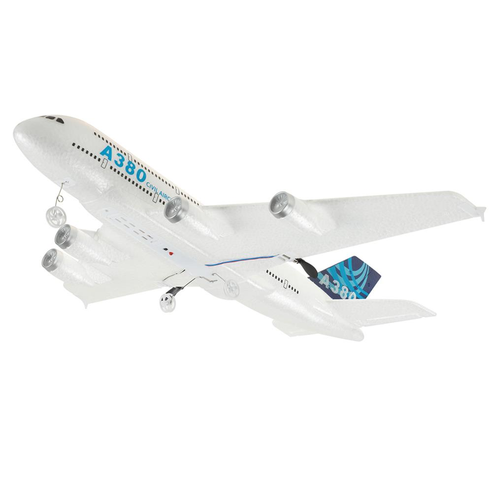 rc-airplane A380 Airbus 420mm Wingspan 2.4G 3CH EPP RC Airplane Fixed-wing Glider RTF Built-in Gyro Battery HOB1785678 3