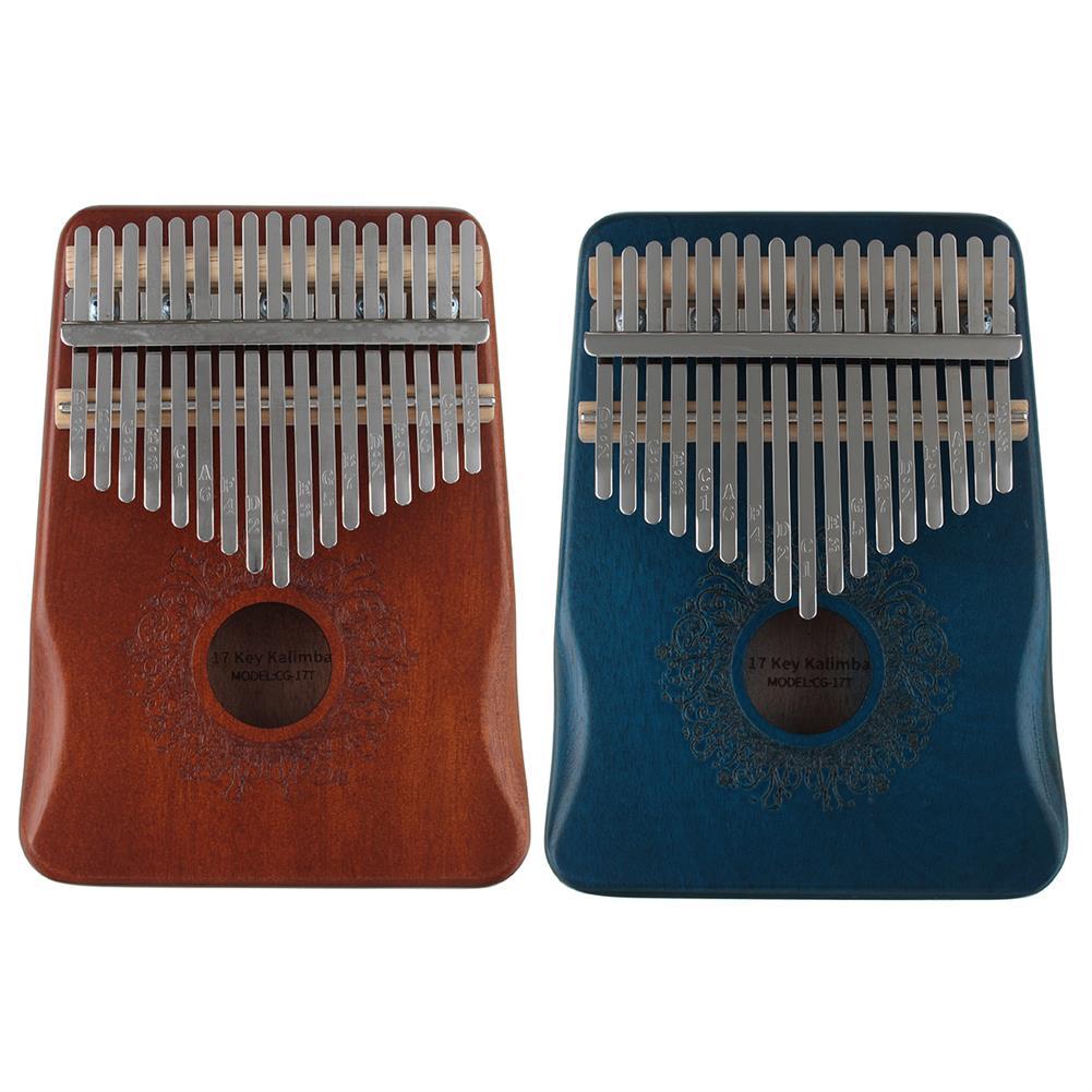 kalimba 17 Key Thumb Piano Kalimba, Finger Piano Gifts for Kids and Adults Beginners HOB1785835