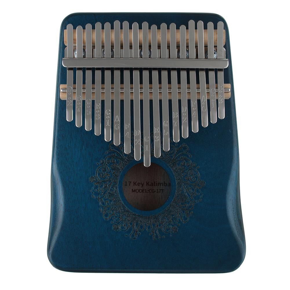 kalimba 17 Key Thumb Piano Kalimba, Finger Piano Gifts for Kids and Adults Beginners HOB1785835 1