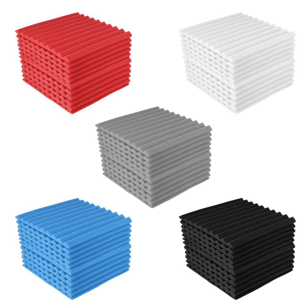 general-accessories 12PCS Acoustic Panels Soundproofing Foam Acoustic Tiles Studio Foam HOB1785840