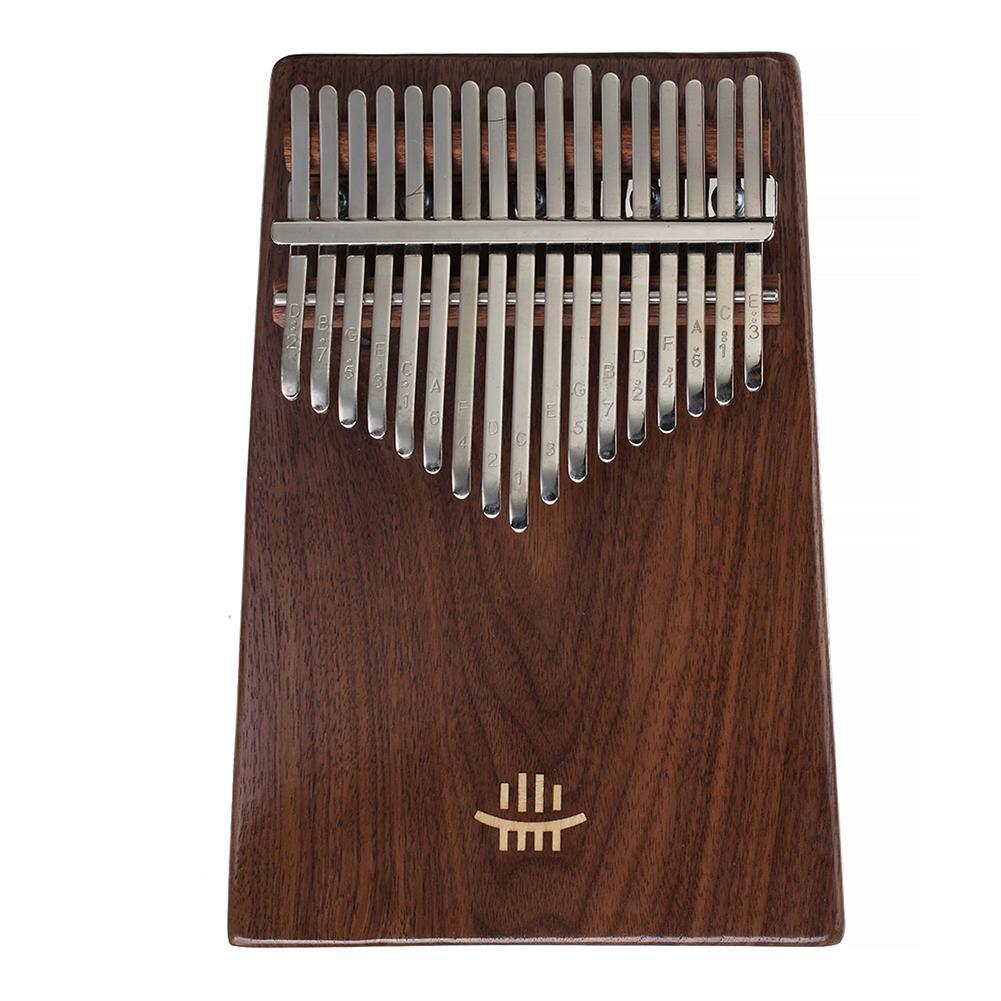 kalimba-HLURU 17 Key Kalimba Finger Piano Thumb Wood Musical instrument for Beginner Walnut-HOB1785850