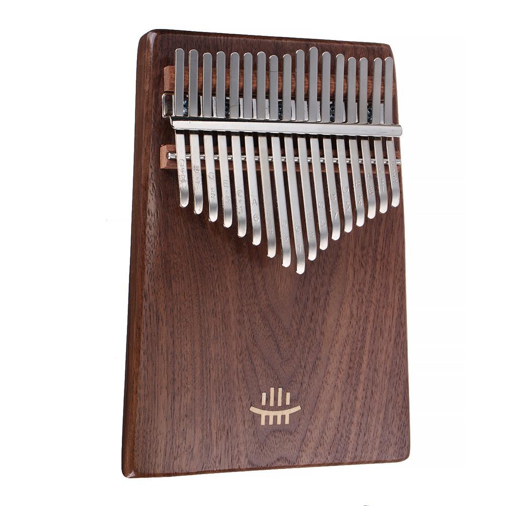 kalimba-HLURU 17 Key Kalimba Finger Piano Thumb Wood Musical instrument for Beginner Walnut-HOB1785850 1