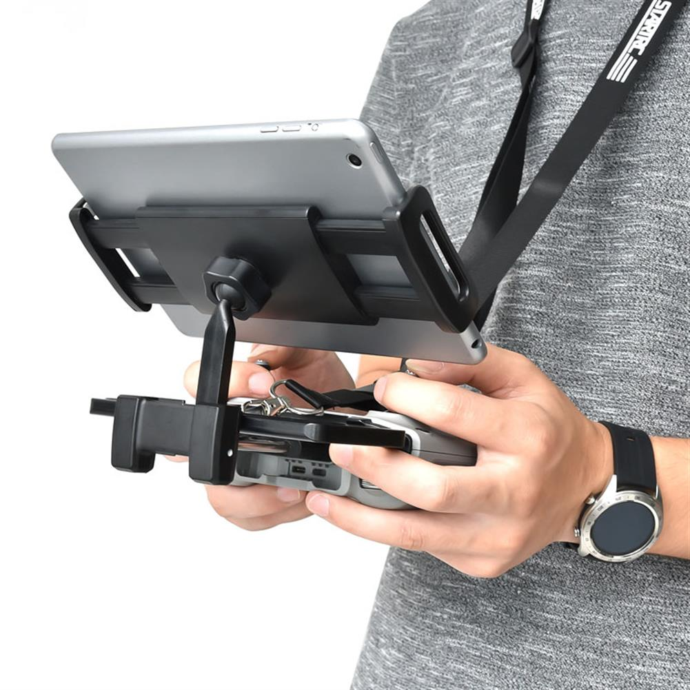 rc-quadcopter-parts STARTRC Phone Tablet Stand Mount Holder Bracket with Lanyard for DJI Mini 2 Remote Control HOB1786037 2