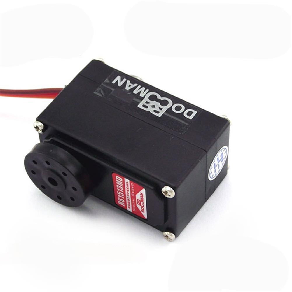 rc-servos Doman DM-RS1513MD 15KG 270 Degree Dual Axis Metal Digital Servo for RC Robot HOB1786142 1