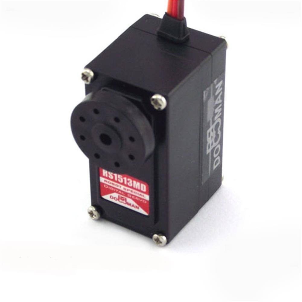 rc-servos Doman DM-RS1513MD 15KG 270 Degree Dual Axis Metal Digital Servo for RC Robot HOB1786142 3