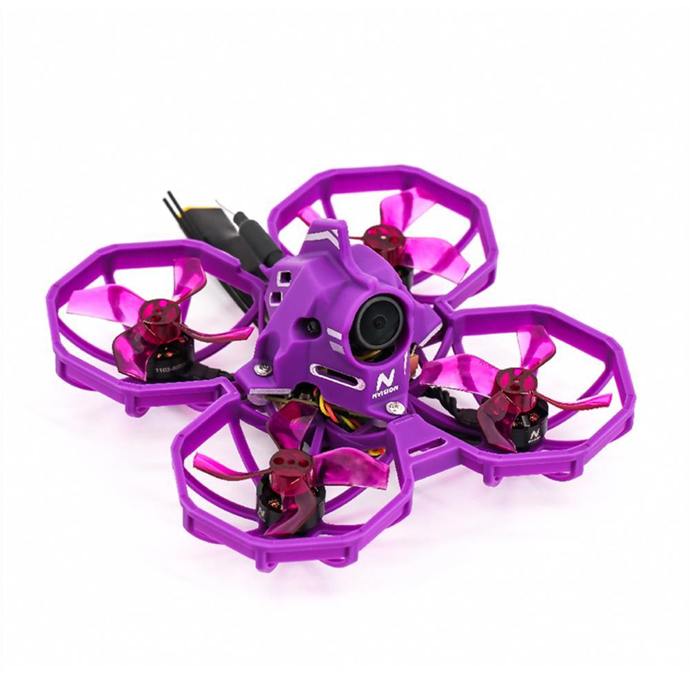 fpv-racing-drone NVision Junior Racer75 75mm F4 AIO 12A ESC 3S Whoop FPV Racing Drone PNP w/ 1103 8000KV Motor 25/100/200mW VTX Caddx Turbo Caddx Eos2 1200TVL Camera HOB1786900