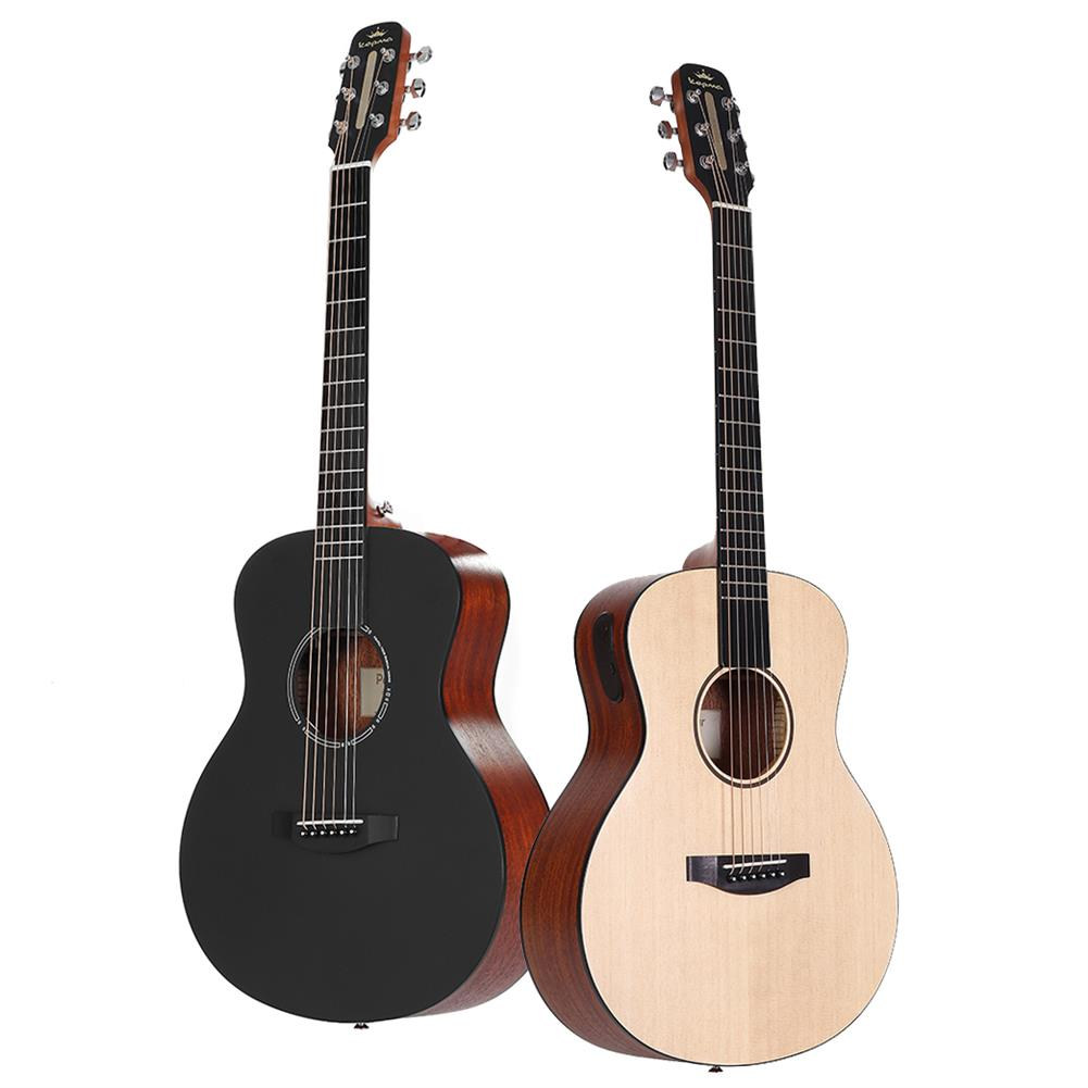 acoustic-guitars Poputar T1 36 inch LED Smart Guitar Guitare App BT5.0 Spruce Mahogany Acoustic Guitar Guitarra Musical instruments with Bag HOB1788224 1