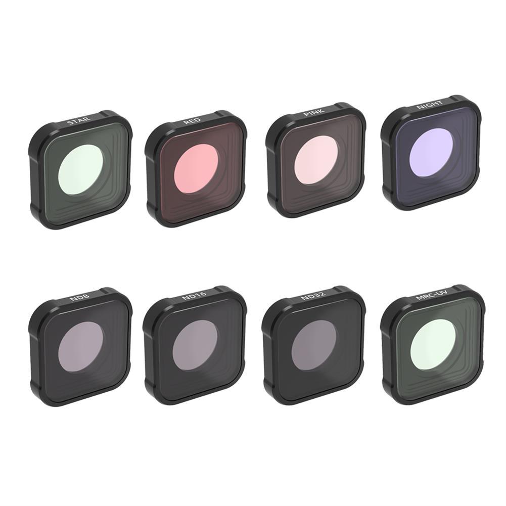 fpv-system URUAV GP09 Camera Filter Combo MRC UV ND CPL STAR Night Lens Sets for GoPro 9 Camera Accessories HOB1788529