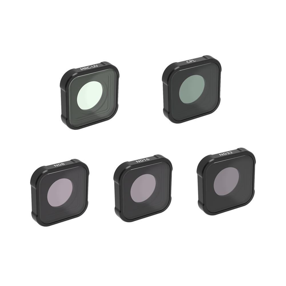 fpv-system URUAV GP09 Camera Filter Combo MRC UV ND CPL STAR Night Lens Sets for GoPro 9 Camera Accessories HOB1788529 2