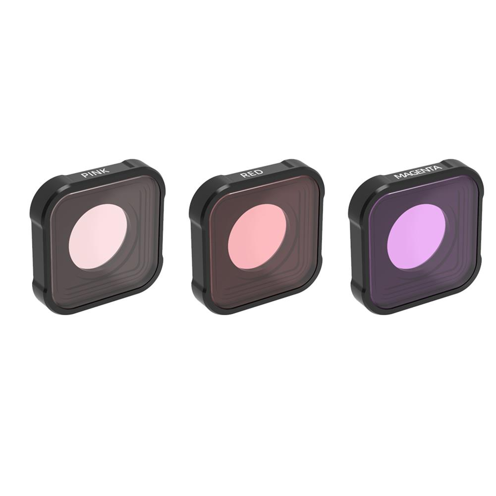 fpv-system URUAV GP09 Camera Filter Combo MRC UV ND CPL STAR Night Lens Sets for GoPro 9 Camera Accessories HOB1788529 3