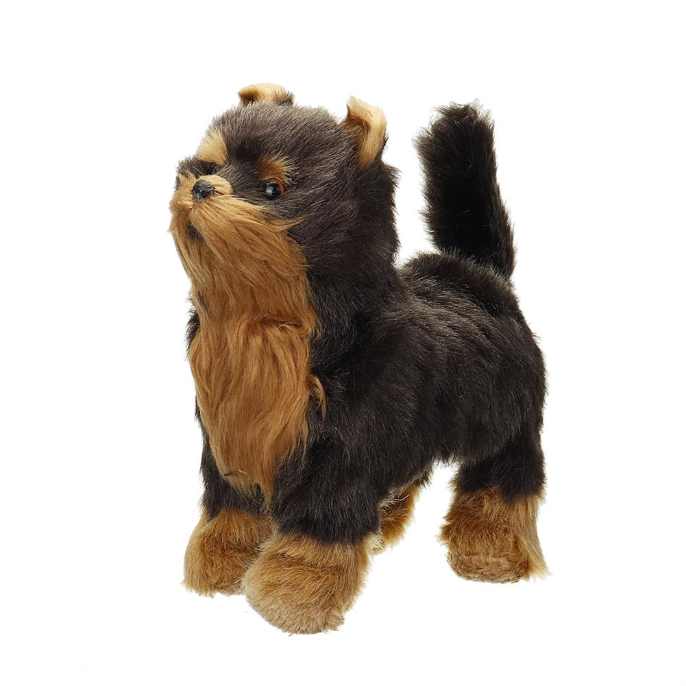 dolls-action-figure Electric Walk Sing Wag Realistic Simulation Dog Lifelike Animal Dolls Toy for Home Decoration Collection Kids Gift HOB1788618