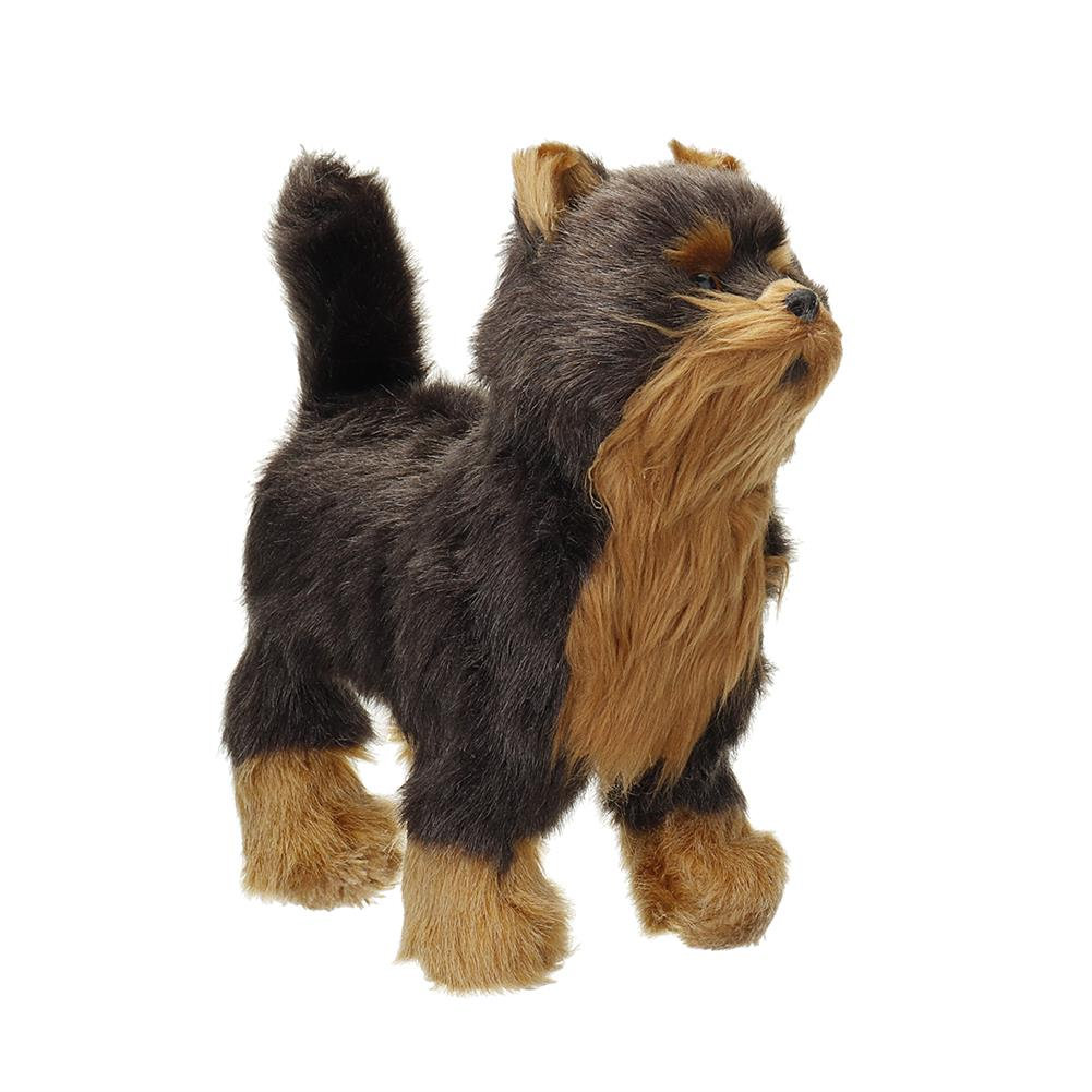 dolls-action-figure Electric Walk Sing Wag Realistic Simulation Dog Lifelike Animal Dolls Toy for Home Decoration Collection Kids Gift HOB1788618 1